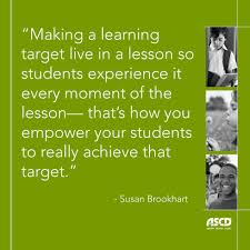 The Lowdown On Learning Targets Ascd Inservice