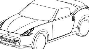Nissan skyline drawing