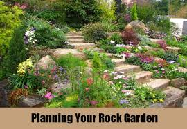 how to plan a garden. Tips To Plan Your Own Rock Garden How A L