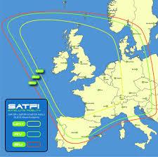 Satellite TV Coverage for Astra 2 (28.2E) & Astra 2 European