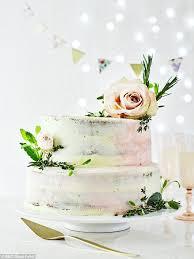 Bbc Good Food Magazine Shares Easy Wedding Cake Recipe Daily Mail