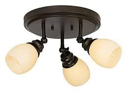 elm park collection bronze 3light adjustable light fixture flush mount ceiling fixtures amazoncom adjustable light fixture e89