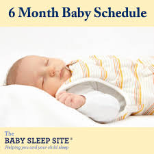 6 Month Old Baby Schedule Sample Schedules The Baby