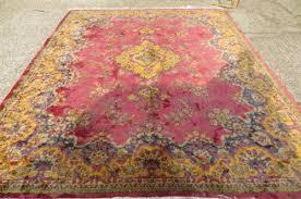 large 1920s persian rug carpet