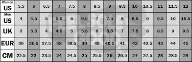 Air Max Thea Size Chart Air Jordan Size 3 Air Jordan Size Chart