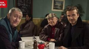 beckham s nerves before only fools and horses appearance