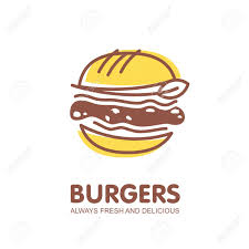 Burger Logo Design Free Burger Logo Design Fast Food Restaurant Symbol