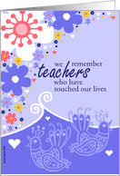 Teachers Birthday Card Thank You Cards For Teacher From Greeting Card Universe
