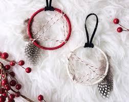 Dream Catcher Christmas Ornament Dream Catcher Ornament Bohemian Christmas Ornament Set 9