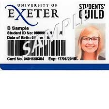 Replacement Cards Replacement University Cards Exeter