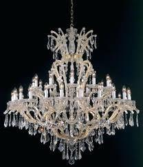 maria gold plated crystal chandelier swarovski blue earrings