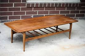 mesmerizing danish modern coffee table on teak three round surfaces unique design