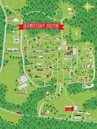 simmons college campus map. illustrated campus map by nate padavick for hampshire college simmons