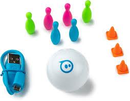 Купить <b>радиоуправляемую</b> модель <b>Sphero Mini</b> White (M001WRW ...