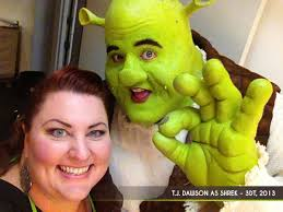 denice is best known for her work on professional ions of shrek the al with her own makeup and prosthetics package and prehensive