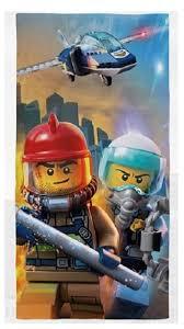 Купить <b>Полотенце LEGO</b> City Keyviz по низкой цене с доставкой ...