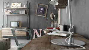 Modern Industrial Bedroom Baby Nursery Picturesque Ideas About Vintage Industrial Bedroom