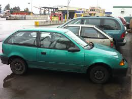 1994 Geo Metro My Green 3994 Geo Metro Has Died After 13 Years Driving It A Grumo