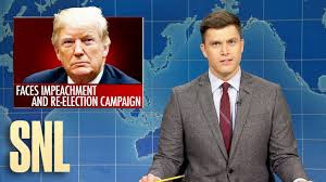 Weekend Update: Trump Running While Impeached - SNL - YouTube