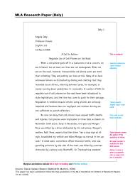 002 Research Paper Mla Format Example Museumlegs