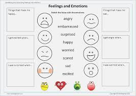 Feelings and Emotions Worksheets Printable – careless.me