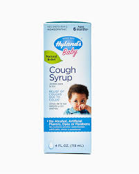 Baby Cough Syrup Infant Cough Medicine Hylands Natural Relief Of Coughs Due To Colds 4 Ounces