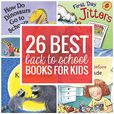 26 favorite back to books for kids