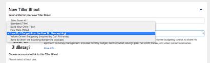Budget Tracker Template How Tiller Can Help You Build A Better Spreadsheet Budget Tiller