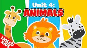 Bé học tiếng Anh về con vật |[Trọn bộ 20 chủ đề từ vựng sách Let's go]  [Lioleo Kids] - YouTube
