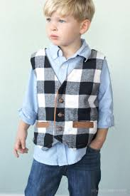 Boys Vest Pattern Cool Decorating