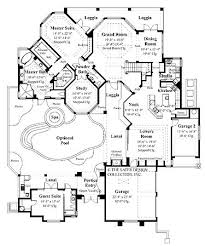 40 best floor plans images on pinterest house floor plans, dream House Plans Courtyard home plans homepw08969 3,744 square feet, 4 bedroom 3 bathroom mediterranean home with 3 courtyard house plans courtyard garage