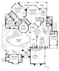 40 best floor plans images on pinterest house floor plans, dream Four Bedroom Cottage House Plans home plans homepw08969 3,744 square feet, 4 bedroom 3 bathroom mediterranean home with 3 4 bedroom cottage house plans