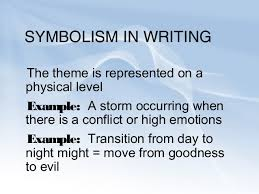 symbolism examples from literature