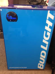 Bud Light Vending Machine Cool Here's Bud Light's 48 'Smart Fridge' AgencySpy