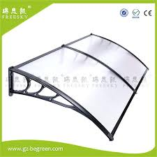 diy polycarbonate awning door canopy window awning awning black bracket clear roof cover sheet diy polycarbonate
