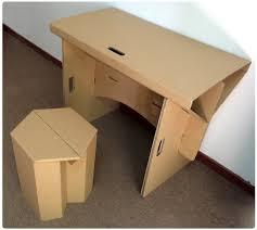 cardboard office furniture. Contemporary Furniture Diy Cardboard Furniture Paper Table With Chair Set Corrugatedcardboard Furniture Folding Throughout Cardboard Office Furniture E