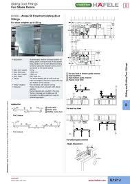 sliding glass cabinet door hardware. Hafele Glass Sliding Door Cabinet Hardware