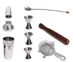 <b>9 Piece Bar</b> Tool Set, Cocktail Shaker, J- Buy Online in Gibraltar at ...