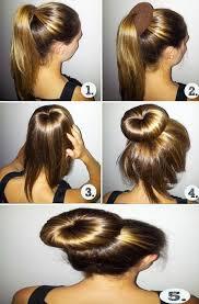 Image Coiffure Simple A Faire Sur Cheveux Mi Long Coupe De