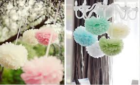 Party Decorations Tissue Paper Balls 1000'' 1000pcs Artificial paper flower ball for wedding party 80