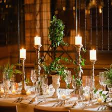 unique wedding decorations with candle light ideas concept of round table decorations ideas