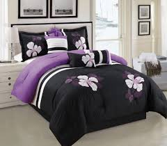 comforter sets smart idea white and purple comforter sets get alluring visage by displaying a