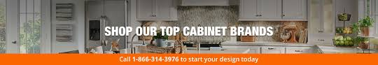 our top cabinets brands at the home depot