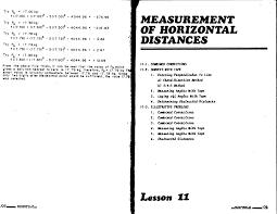 Surveying Taping Elementary Surveying