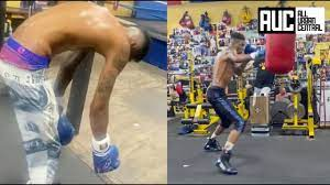 Training For Celebrity Boxing Match ...