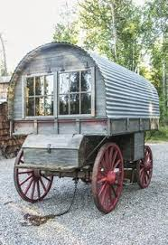 Small Picture 1870 Covered Wagon Canvas Print Canvas Art by Jason Ponder