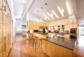 track lighting sloped ceiling adapter suspended for vaulted ceilings slanted latest kitchen island design