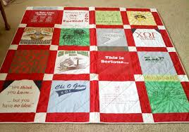 Preserving college memories with a T-shirt quilt | Quilt Addicts ... & I ... Adamdwight.com