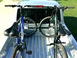 truck bed bike rack in bed bike rack truck mid sized bar wood wood in bed truck bed bike rack