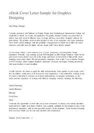 Cover Letter Graphic Design Example Tomyumtumweb Com